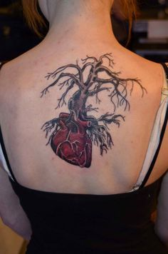 One of the most common designs of a tattoo that you can find on both men and women these days is a tree. A Tree tattoo can symbolize a lot of things. It co