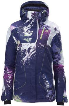 ZERO JACKET W - Jackets - Clothing - Alpine Skiing - Salomon Usa. I totally want this jacket!!!!