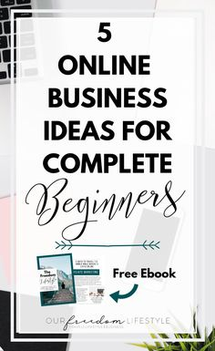 Online Business Ideas For Complete Beginners... Learn 5 different career options that absolutely anyone can do, and thrive in! #onlinebusiness #workonline #onlinecareer #onlinebusinesstips #beginnerbusinesstips