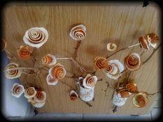 Las rosas anaranjadas de la cáscara | Manos Hábiles