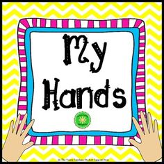 Good social skills mean that we do not use our hands to hurt others or stuff. Sometimes little ones are not sure how to use their hands... their hands may do things to hurt a friend. This story lesson can be used for a whole class, small group or individual lesson.