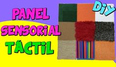 PANELSENSORIALTACTIL_WEB Youtube, Ideas, Texts, Occupational Therapy, Sensory Activities, Montessori Sensorial, Feather Boas, Youtubers, Thoughts