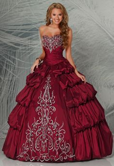 Q by DaVinci Quinceanera Dress and Gowns Style 80176 is made for Sweet 15 girls who want to look like a beautiful Princess on her special day with its unforgettable design. Made out of Taffeta, these