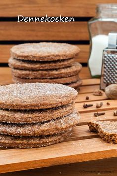 These crispy cookies taste like the outside of a freshly baked butter cake: . - These crispy cookies taste like the outside of a freshly baked butter cake: crispy, crumbly and del - Crispy Cookies, No Bake Cookies, Cupcake Cookies, No Bake Cake, Delicious Cake Recipes, Yummy Cakes, Yummy Food, Dutch Recipes, Sweet Recipes