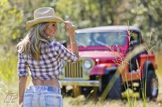 Country Jeep girl :-)