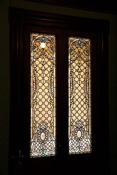 Stained Glass at Winchester Mansion (Mystery House) | Flickr - Photo Sharing!