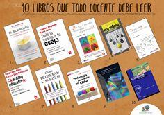 10 LIBROS QUE TODO #DOCENTE DEBE LEER #lecturas #educacion