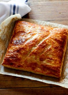 ham + cheese puff pastry | The Clever Carrot