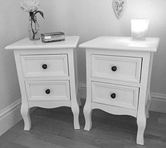 Set of Two Small Traditional Style Bedside Table in White Sylvester Oxford Ltd http://www.amazon.co.uk/dp/B00QTT7ANG/ref=cm_sw_r_pi_dp_r2Kcxb073FBVM