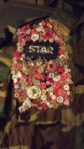 Army jacket, camouflage, style, refashion, STAR