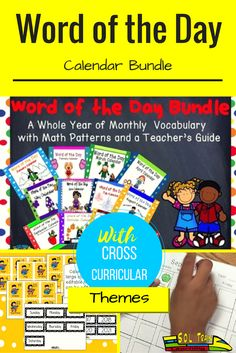 Increase your students' daily vocabulary with this word of the day calendar bundle. Purchasing this word of the day bundled set saves y'all $12.00 which is more than 25% savings! This word of the day calendar bundle from SOL Train Learning is a vocabulary tool that every teacher should have in his or her arsenal. So much more than a calendar, or word of the day resource, this product provides numerous teaching opportunities for you and your kiddos. We have provided a teacher guide.