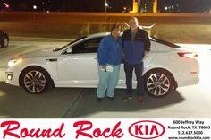 Congratulations to Don Golay on your #Kia #Optima purchase from Roberto Neito at Round Rock Kia! #NewCar