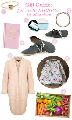 We have the perfect gift guide for the new mama in your life!