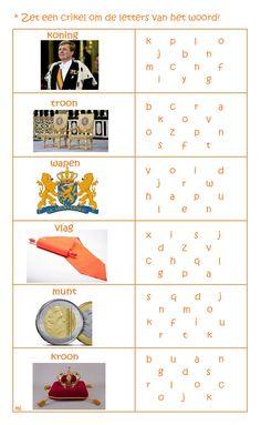 Activities For Kids, Crafts For Kids, Holland, Dutch, Teaching, School, Crowns, Crafts For Children, The Nederlands