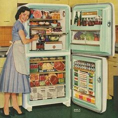 Detail Of Stor-Mor Freezer Refrigerator