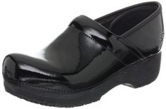 Skechers for Work Women's Clog,Black Patent,9 M US -- Want to know more, visit