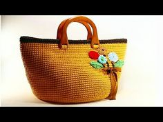 Crochet Videos, Straw Bag, Diy And Crafts, Weaving, Vans, Handmade, Fashion, Crochet Purses, Crocheting Patterns