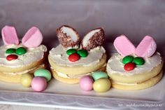 Mia Bella Passions: Irresistible Easter Rabbit Cookies...
