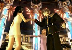The waltz between Squall and Rinoa