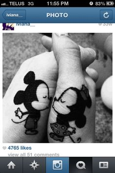 Couples tattoo #cute