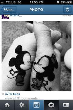 Couples tattoo #cute