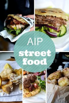 AIP Street Food Round Up: 20 Truck Food Recipes for the Autoimmune Protocol - Paleo Recipes Paleo Menu, Paleo Diet, Keto, Best Paleo Recipes, Diet Recipes, Primal Recipes, Dieta Aip, Doner Kebabs, Mezze