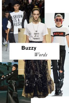 Whether political (Christian Dior) or pornographic (Hood By Air), slogan tees came into a new prominence this season, with even more unexpected labels—see: Haider Ackermann—getting in on the game.
