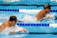 Lochte and Phelps my two favorites doing my favorite stroke :D