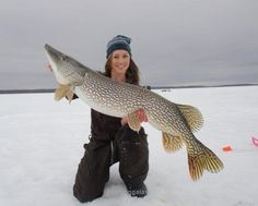 nude ice fishing
