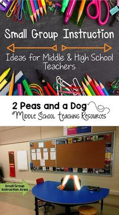 2 Peas and a Dog: Small group instruction looks different in every classroom - sometimes it is a structured intervention program, other times it is the teacher working with a small group of students on a focused task like guided reading or writing. Several great strategies are shared on how to make small group instruction meaningful in the secondary classroom.