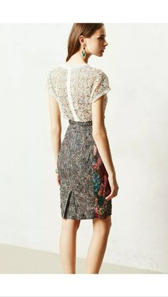 Anthropologie Beguile by Byron Lars study dress