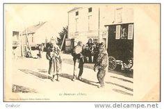 Unclassified - Delcampe.fr demonstratorzy niedźwiedzi na starych pocztówkach, bear street shows on vintage postcards