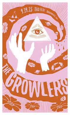 Melinda Arendt // the-growlers-poster
