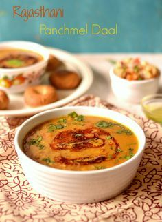 Rajasthani Panchmel Dal- five lentil mix curry – The Veggie Indian 5 lentil mix curry from Rajasthan, traditionally served with baked buns called baatis. Full recipe
