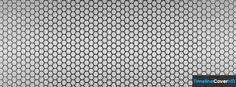 Silver Metal Mesh Pattern Facebook Cover Timeline Banner For Fb52 Facebook Cover