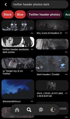 Blue Twitter Header, Twitter Header Aesthetic, Twitter Header Photos, Dark Anime, Owl House, Bts Memes, Ideas Para, Wallpapers, Search