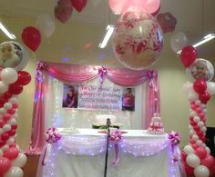 Girl first 1st birthday stage decorations(1).JPG 900×746 pixels
