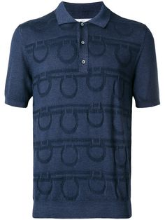 SALVATORE FERRAGAMO Gancio polo shirt. #salvatoreferragamo #cloth #