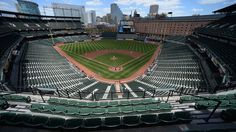 Twitter reacted to the Orioles-White Sox game on Wednesday, where no fans were in attendance.