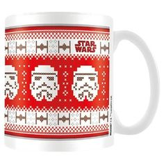 Star Wars Stormtrooper Christmas Ceramic Mug -  £12.99