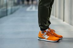 New Balance 576 (Orange Pack) Made In Uk, New Balance, Two By Two, Kicks, Packing, Sneakers Nike, Comfy, Pairs, Orange