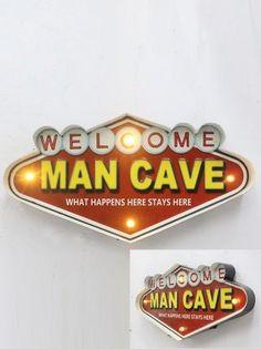 Man Cave Işıklı Pano