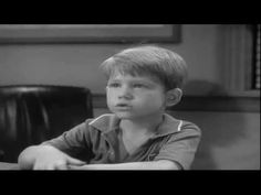 The Andy Griffith Show--Very First Scene of the First Episode