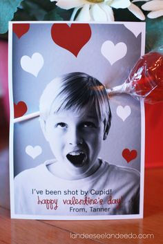 DIY Valentine Photo Card ideas