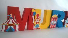 Letra 3D - Circo
