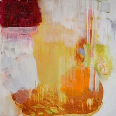 "Madeline Denaro, Amid, 2015 synthetic polymer on canvas 24""x24"""