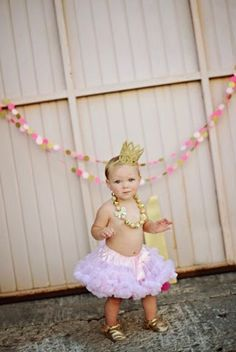 Little Lovelies: One Year Pics by Bonnie Loewen first birthday photoshoot princess party