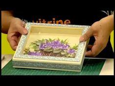Arte Brasil - Estilotex - Chaveiro de cartonagem - YouTube