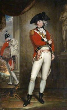 BBC - Your Paintings - Captain John Clayton Cowell (1762–1819), 1st Battalion, 1st (or the Royal) Regiment of Foot, c.1796