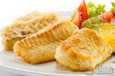Receita de Filés de pescada ao forno - Comida e Receitas